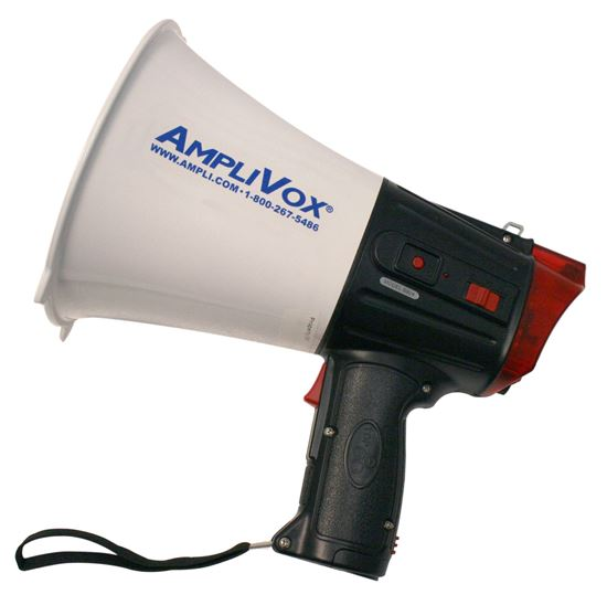 10 watt megaphone with record & play feature