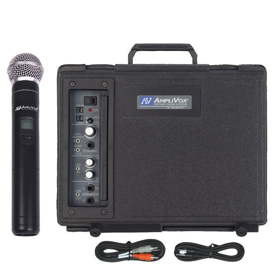 Picture of Audio Portable Buddy with Wireless Handheld Mic